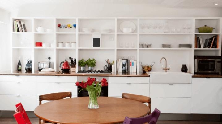Стеллажи для кухни: особенности, виды и советы по выбору