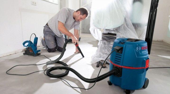 Выбираем промышленный пылесос для бетонной пыли