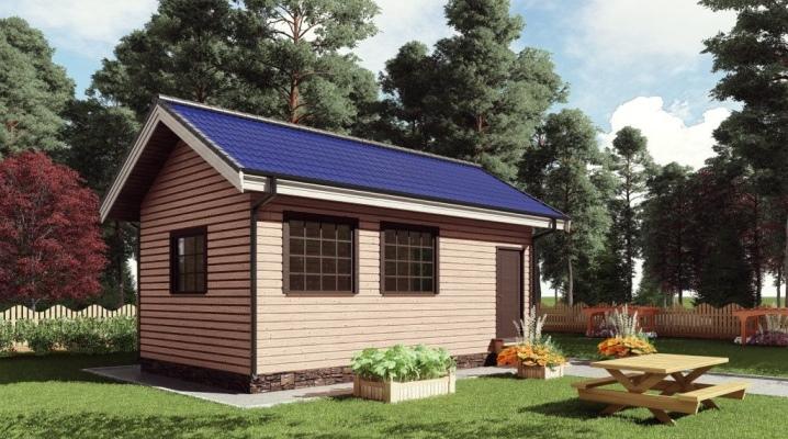Варианты планировки дачного дома