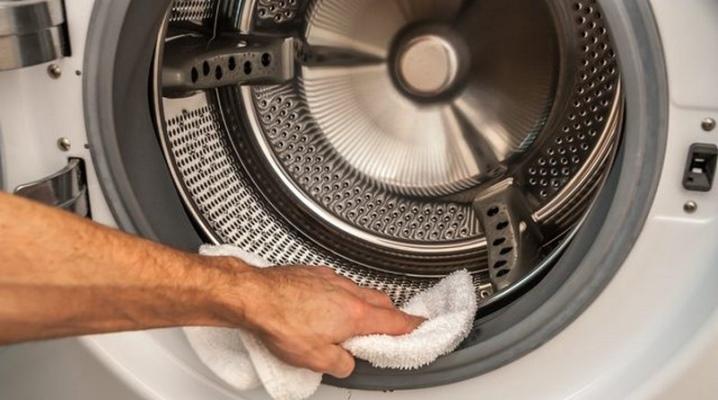 очистка стиральной машины