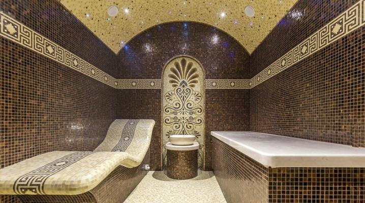 Турецкая баня как построить