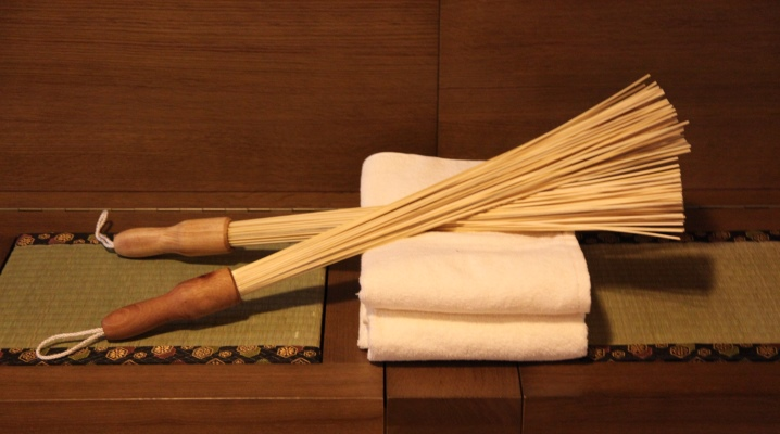 бамбуковый массажер баня