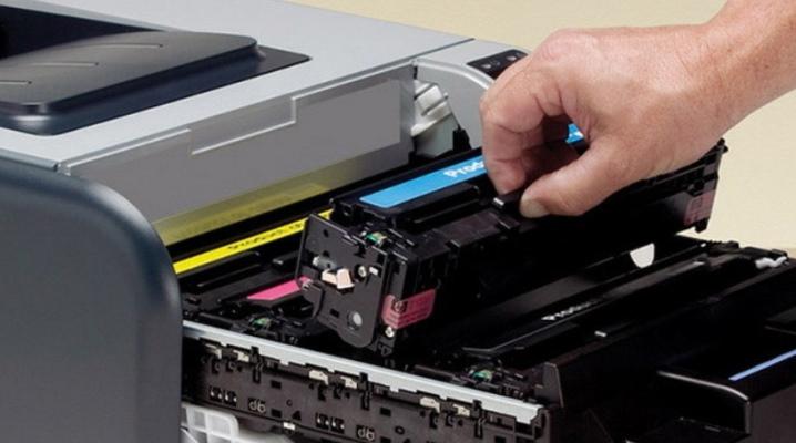Заправка чернил для принтера