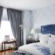 Дизайн спальни  площадью 15 кв. м
