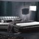 Кровати черного цвета
