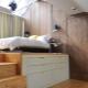 Кровати-подиумы с ящиками