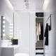 Элитные шкафы в белом глянце: украшение интерьера