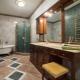 Каким должен быть линолеум в ванную комнату?