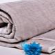 Льняное одеяло