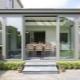 Раздвижные алюминиевые двери для террасы