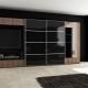 Шкафы в гостиную размером во всю стену: особенности размещения