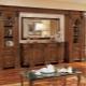 Стенки в гостиную в популярном стиле «классика»