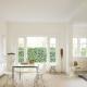 Белый ламинат – свежее решение для интерьера