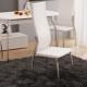 Хромированные стулья для кухни