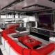 Кухня-гостиная в стиле «хай-тек»: особенности современного интерьера