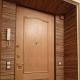 Варианты оформления дверей с помощью ламината