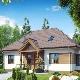 Варианты планировки одноэтажного дома размера 12х12 м
