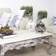Выбираем красивый дизайн и декор журнального столика в стиле «прованс»