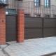 Как выбрать ворота с калиткой для дачи и частного дома