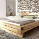 Кровати из бруса: крепкая мебель для вашей спальни