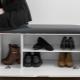 Обувницы с сиденьем в прихожую: современные идеи