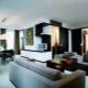 Оформление гостиной в стиле «хай-тек»