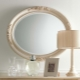 Овальное зеркало: красивые примеры использования в дизайне интерьера