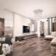 Стильные идеи оформления интерьера гостиной в стиле «лофт»