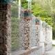 Забор из габионов: особенности конструкции