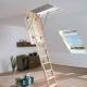 Чердачная лестница с утепленным люком: особенности и виды конструкций