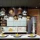 Черный потолок в дизайне интерьера
