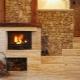 Дровяные камины для дома: виды и особенности конструкций