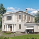 Двухэтажные дома с гаражом: интересные проекты