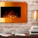 Электрический камин с эффектом пламени 3D: разновидности и установка