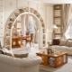 Мебель из гипсокартона в дизайне интерьера