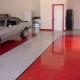 Наливной пол в гараже: плюсы и минусы