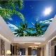 Натяжные потолки с эффектом 3D в интерьере