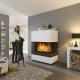 Современные камины в интерьере квартиры и частного дома