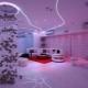 Светящиеся натяжные потолки: идеи оформления и дизайна
