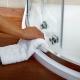 Чем отмыть душевую кабину от известкового налета в домашних условиях?