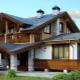 Фантазии в стиле «шале»: традиционные и современные формы крыши
