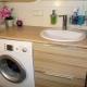 Раковины со столешницей под стиральную машину: как выбрать?