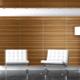 Шпонированные МДФ-панели для стен в дизайне интерьера
