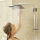 Тропический душ для ванной со смесителем: особенности и критерии выбора