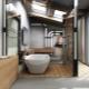 Ванные в стиле «лофт»: современные тенденции в дизайне интерьера