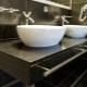 Выбираем столешницу в ванную из искусственного камня с раковиной