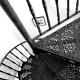 Чугунные винтовые лестницы: особенности конструкции