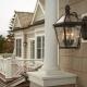 Фасадные светильники: выбор архитектурной подсветки для здания