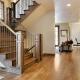 Лестница в частном доме: в каком стиле оформить?