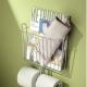 Настенные металлические держатели для туалетной бумаги: разновидности и критерии выбора